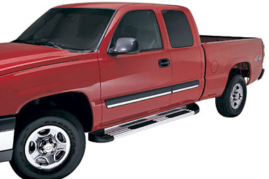 Chevy Silverado Lund TrailRunner Aluminum Running Boards
