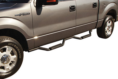 "Ford F-150 Rampage 2"" Slimline Step Nerf Bars"