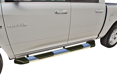 rampage xtremeline running board step bars