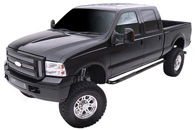 "Ford F-250 Smittybilt 3"" Sure-Step Round Nerf Bars"