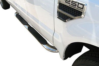 "Dodge Ram Steelcraft 4"" Premium Oval Nerf Bars"