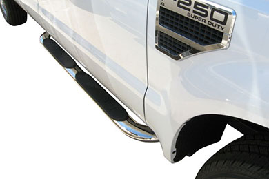 "Chevy Silverado Steelcraft 4"" Premium Oval Nerf Bars"
