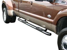"Ford F-250 Aries 4"" Oval Nerf Bars"