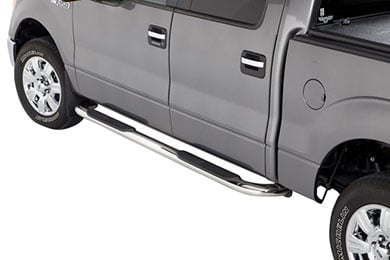 "Westin 4"" Platinum Oval Nerf Bars"