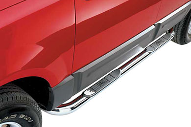 "Jeep Grand Cherokee Westin 3"" Platinum Series Round Nerf Bars"
