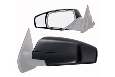 Ford F-150 K-Source Snap & Zap Clip-On Towing Mirrors