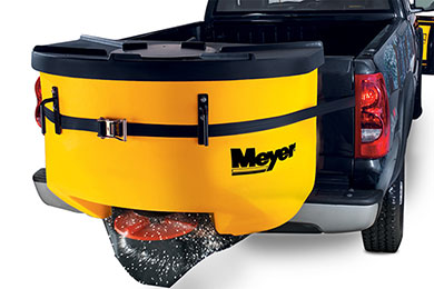 Nissan Titan Meyer Mate Tailgate Salt Spreader