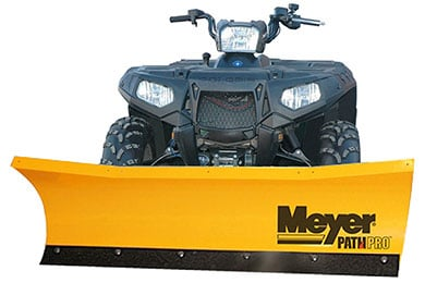 meyer path pro atv snow plow