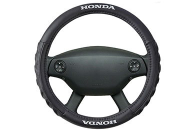BDK Honda Leatherette Steering Wheel Cover