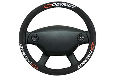 Bully Chevrolet Leather Steering Wheel Cover