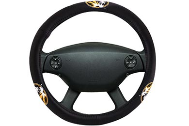 Bully Collegiate Leather Steering Wheel Covers