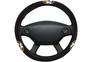 Chevy Corvette Bully Collegiate Leather Steering Wheel Covers