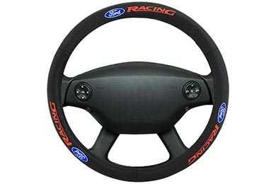 Chevy Silverado Bully Ford Leather Steering Wheel Cover