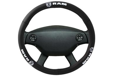 Chevy Silverado Bully RAM Leather Steering Wheel Cover