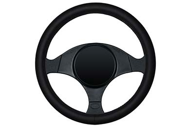 Jeep Grand Cherokee Dash Designs Smooth Leather Steering Wheel Cover