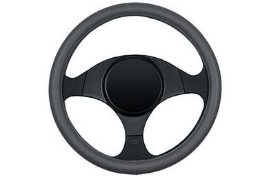 Chevy Tahoe Dash Designs Smooth Leather Steering Wheel Cover