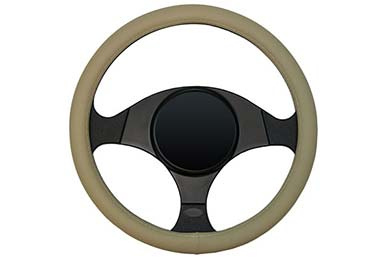 Chevy Trailblazer Dash Designs Smooth Leather Steering Wheel Cover