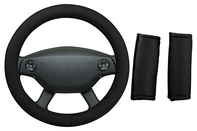 Lexus ES 350 Dash Designs Memory Foam Steering Wheel Cover Combo Pack