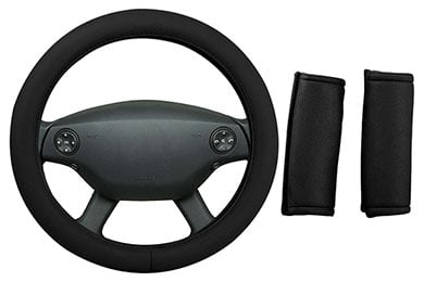 Dash Designs Memory Foam Steering Wheel Cover Combo Pack