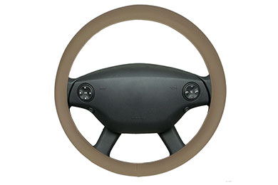 Nissan Versa Motor Trend Perforated Leatherette Steering Wheel Cover
