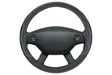 Motor Trend Performance Grip Leatherette Steering Wheel Cover