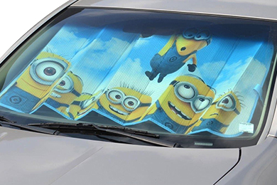 Toyota Pickup BDK Minions Windshield Sun Shade