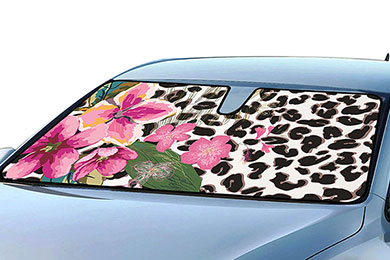 Mercedes-Benz 190 ProZ Floral Windshield Sun Shade