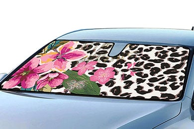 Lincoln Town Car ProZ Floral Windshield Sun Shade