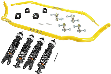 Chevy Corvette aFe Control Johnny O'Connell Suspension Package