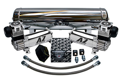 Cadillac CTS Air Zenith Dual-OB2 Air Compressor Kit