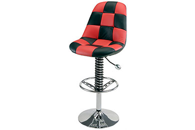Intro-Tech Automotive PitStop Pit Crew Bar Chair