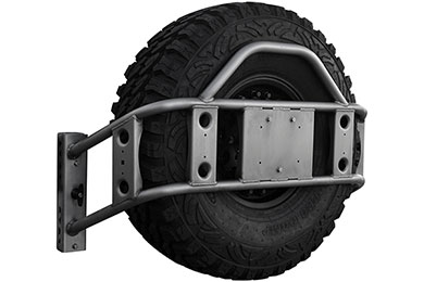 poison spyder body mounted tire carrier