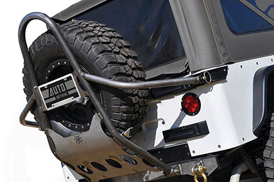 Jeep Wrangler Poison Spyder Rear Stinger Tire Carrier