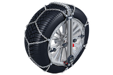 Ford F-250 Thule Easy Fit Tire Chains