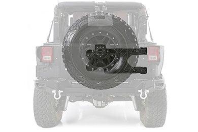 smittybilt pivot heavy duty oversize tire carrier
