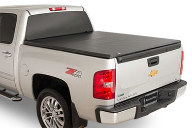 advantage sure fit tonneau closed silverado