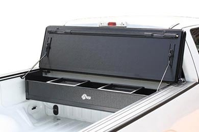 Ford F-250 BAK BAKFlip FiberMax Tonneau Cover with BAKBox 2 Toolbox