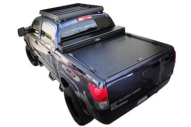 Toyota Tacoma Truck Covers USA American Work Jr. Toolbox Tonneau Cover
