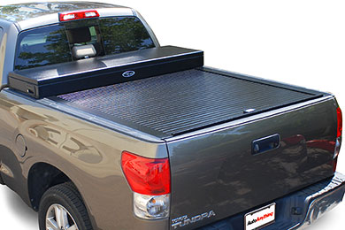 Ford F-350 Truck Covers USA American Work Toolbox Tonneau Cover