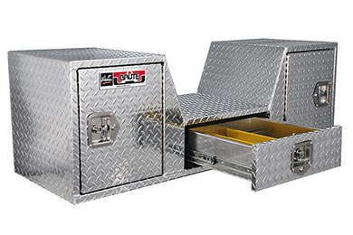 GMC Sierra Brute Pro-Series V-Shape 5th Wheel Toolbox