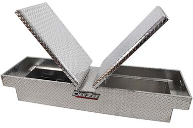 Ford F-150 Dee Zee Red Label Double-Lid Gull Wing Crossover Tool Box