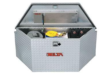 GMC Sierra Delta Aluminum Trailer Tongue Box