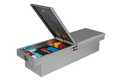 Chevy Kodiak Delta Aluminum Mid-Lid Crossover Tool Box - Gen 2