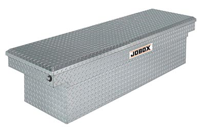 Ford F-150 JOBOX Aluminum Single Lid Deep & Wide Crossover Tool Box
