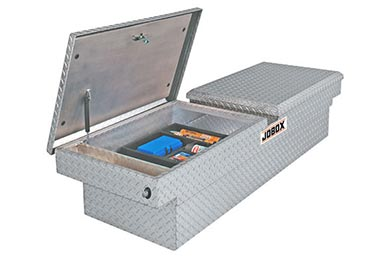 Chevy Avalanche JOBOX Aluminum Dual-Lid Rear Hinge Crossover Tool Box