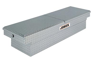 Ford F-150 JOBOX Aluminum Mid-Lid Crossover Tool Box