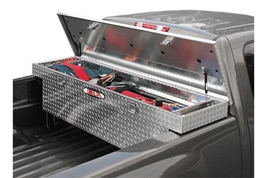 GMC Sierra Delta Aluminum Single Lid Crossover Toolbox - Gen 2