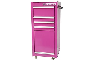 The Original Pink Box Tool Cart