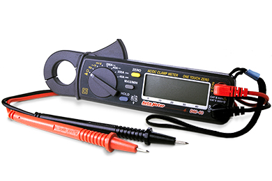 autometer dm 40 digital inductive amp probe multimeter