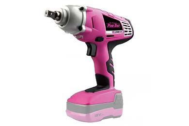 the original pink box 18 volt lithium ion cordless impact wrench hero